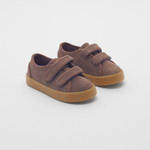 • Zara • Leather Sneakers